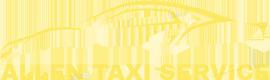 Allen Taxi Cab,Yellow Cab Service,FriscoTaxi,dfwTaxi Logo